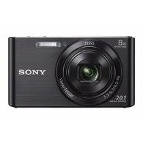Camara Digital Sony W830 20mp 8x Carl Zeiss Hd+mem 8gb C10