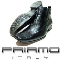 Sale! Botas Priamo Italy Ankle Boot Cruz Gothika [da000672]