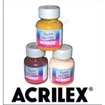 Acrilex Pintura Para Tela - 70 Colores Linea Completa