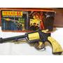 Juguete Revolver Sym 44 Muzal Texas 44 Ind. Arg. 1973 C/caja