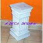 Columna Pedestal 40 Cemento Base Adorno