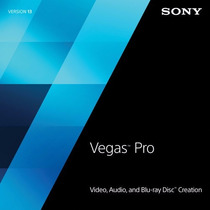Sony Vegas Pro 13- Licencia 2015