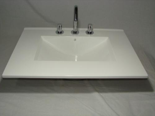 Mesada bacha marmol sintetico para ba o vanitorys marmol for Mesadas para banos