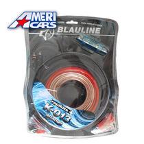 Kit De Cables 8 Gauges K-013 Para Potencias Hasta 2500w
