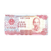 Vietnam Billete De 500 Dong Año 1988 Sin Circular !!!!!