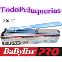 Planchita 230°c Babyliss Nano Titanium 9559 + Funda +soporte