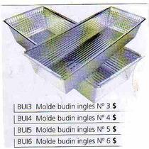 Molde Budin Ingles Nro.3