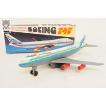 Avion Aerolineas Argentinas Boeing 747 Ital Toys Mib Antiguo