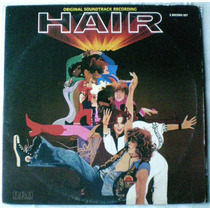 Hair - Banda De Sonido 1979 - Lp Vinilo Importado Usa Doble