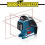 Nivel Laser De Planos Horizontal Vertical Bosch Gll 3-80 P