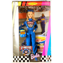 Barbie Collector Nascar 50 Th Annivers. Año 1998 Bunny Toys