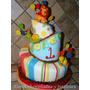 Torta Infantil Topsy Turvy Inclinada 8 Kg - Chef Profesional