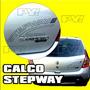 Calco Stepway 2009 2012renault Sandero Calcomania Ploteoya!