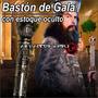 Baston Estoque De Gala, Cuchillo Espada Daga Oculta Unico