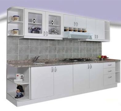 Mueble de cocina practico y moderno 2 40mts amoblamientos - Pintar muebles de melamina fotos ...