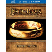 Blu Ray Lord Of The Rings Trilogy 15 Disc Extended  Edition