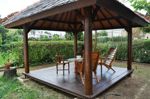 Gazebos en madera puerto rico style - Pergolas de cemento ...