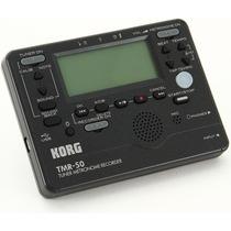 Afinador Metrónomo Y Grabador Korg Tmr-50 Nuevo Garantía