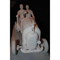 Ettore & Rembrandt Buggati- Escultura De Marmol De Carrara