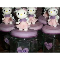 Souvenirs Kitty La Mas Linda! Frasco Golosinero