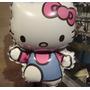 Globo De Hello Kitty 14 Pulgadas !!!!!!!se Entrega Inflado