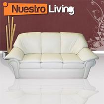 Sillón 3 Cuerpos Luis Dieciséis - Elegante Juego De Living