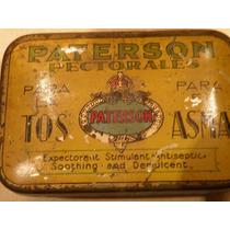 Increible Caja De Pastillas Inglesas Paterson