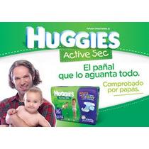 Oferta!!! Huggies Active Sec Tamaño G