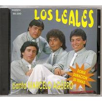 Los Leales Canta Marcelo Aguero (1995) Cd Nuevo Cumbia