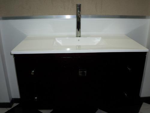 Mesadas bachas de marmol sintetico para ba o vanitorys for Mesadas de bano