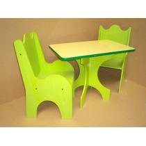 Juego de mesa y sillas infantiles para ni os chicos for Sillas para chicos