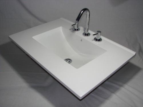 Bacha Para Vanitory Baño:Mesada Bacha Marmol Sintetico Para Baño Vanitorys (Marmol) a ARS 610