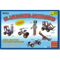 El Mecanico Argentino T/mecano Para Armar De Metal X333 Pzas