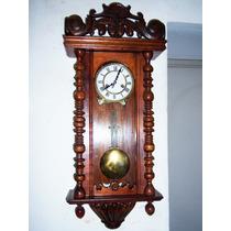 Historical*-antiguo Reloj Gustav Becker 84cm-garantia-envio