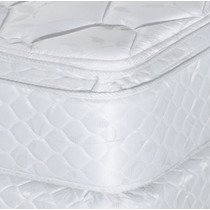 Colchon Y Sommier 140 X190 X 37 Doble Pillow Top Almohadas