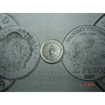 Moneda 1 Peso 1810 - 1960 Conmemorativa 150 Años Revolucion
