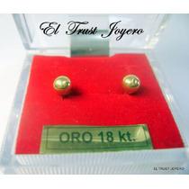Aritos Abridores Oro 18k. Nº4 El Trust Joyero Garantia