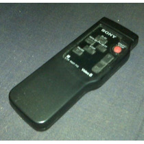 Control Remoto Filmadora Sony Handycam Tvr 8mm Impecable!!