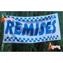 Bandera Remises * 150 X 75cm * Cartel Publicidad Negocio