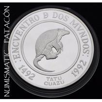 Moneda Plata 2º Serie Iberoamericana - Tatu Guazu