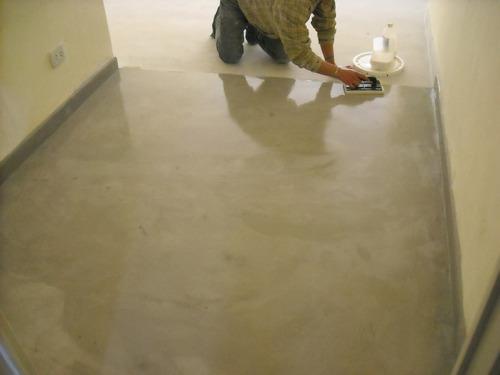 Cemento alisado microcemento 12 m2 con laca flexible 1399 9 kfjaz precio d argentina - Precio microcemento m2 ...