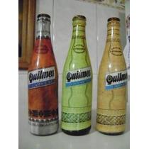 Botellas De Cerveza Quilmes Termoselladas Variadas