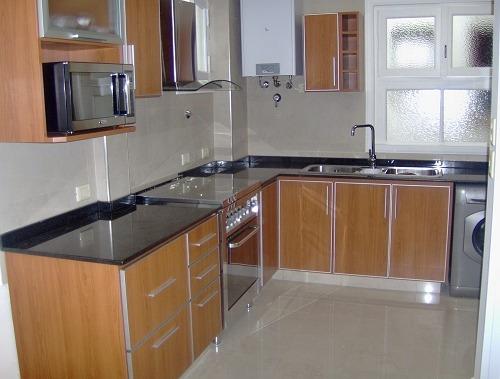Muebles de cocina c cantos de aluminio bajo mesada for Muebles de cocina argentina
