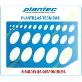 Plantillas Plantec Dibujo Técnico Indutrial Arquitectura