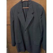 Saco De Vestir Marca Bidovec Talle Xl, Color Azul !!!