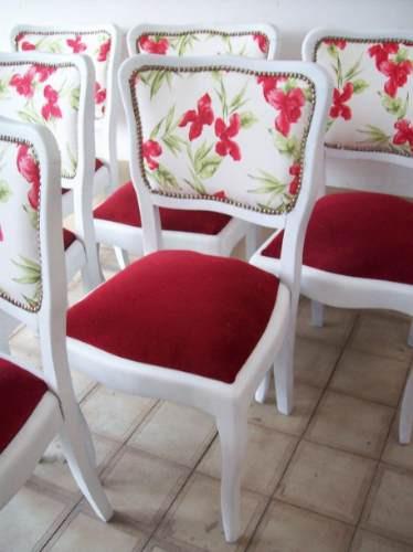 Exclusivas sillas elegi como las queres 2450 g0xui - Precio tapizar sillas ...