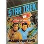 Star Trek Magik Paint Book Libro Pintar England