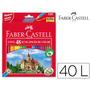 Lapices De Colores Faber Castell X 48 Reforzados Y Sacapunta