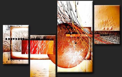 Cuadros d pticos tr pticos pol pticos modernos for Imagenes de cuadros abstractos geometricos
