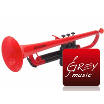 Trompeta De Plàstico Ptrumpet Roja Con Negro